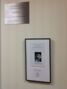 ZB lounge plaques