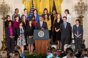 President Barack Obama delivers a statement on the Affordable Care Act in the East Room of the White House, May 10, 2013. (Official White House Photo by Lawrence Jackson)